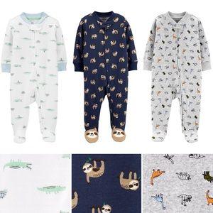 CARTERS Baby Zip Cotton Sleep & Play—Lot of 3